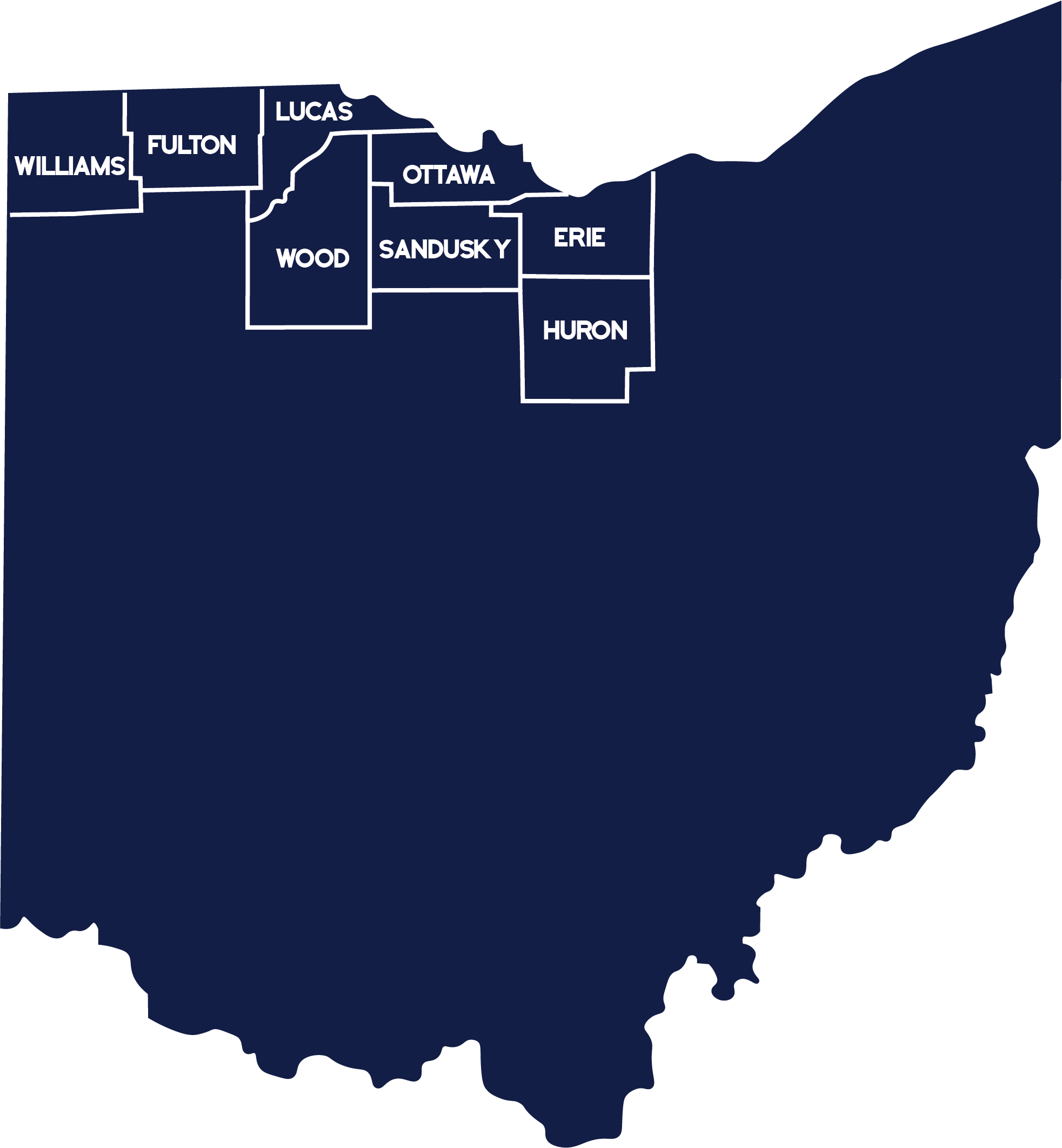 8 County Map